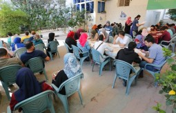 "The Press House conducts a Written Test for the applicants of the ""Comprehensive Journalist Program"""