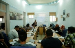Press House-Palestine opens its media training program funded by Swiss Government