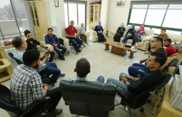The Press House organizes a field trip for International News Agencies in Gaza