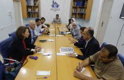 The Deputy Minister of the Foreign Affairs of Switzerland Visits the Press House