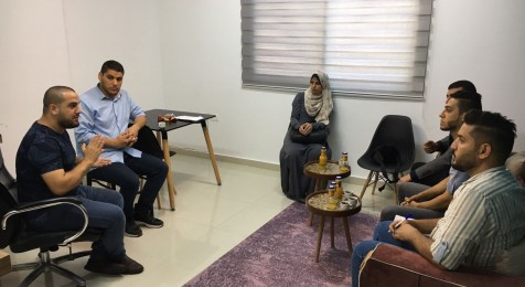The Legal Protection Unit for Journalists implements field visits for institutions and media companies in the Gaza