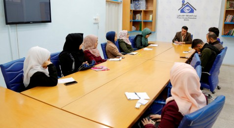 """"""" Journalists towards Excellence"""" team concludes a training course at the Press House"""