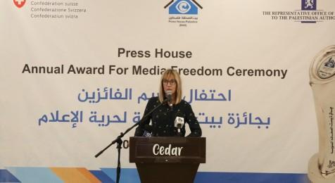 Norwegian Ambassador Hilda Haraldestan