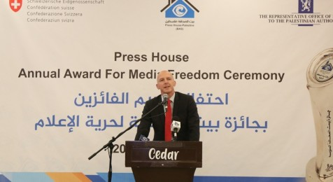 Swiss Ambassador Julian Thony