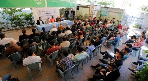 Press House hosts a workshop on University Fees Crisis in Gaza