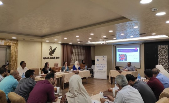 Press House and Al- Najah Center holds a dialogue meeting
