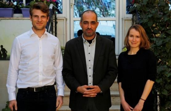 A delegation of the Netherlands Representation Visits the Press House
