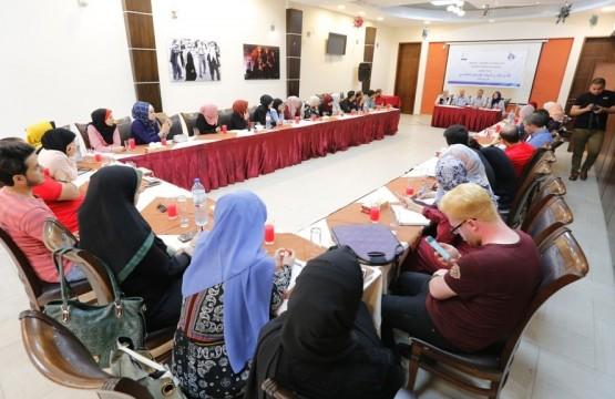 "The Press House hosts the Cultural ""Shaghaf"" Team"