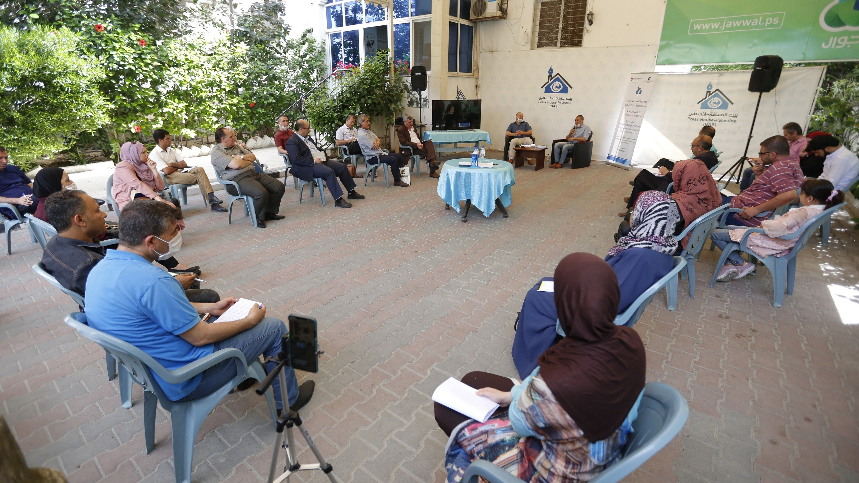 """The Cultural Club at Press House holds a symposium on the topic of """" Arabic Novel and Role of Publisher in Support and Market for it"""""""