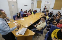 Press House organizes a workshop in cooperation with the Palestinian Ministry of Health in Gaza
