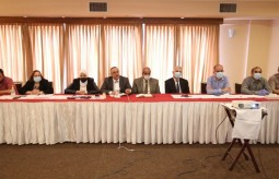 """Press House organizes a dialogue meeting """"Face the Press"""" with the ministerial delegation in the Gaza Strip"""