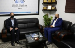 Minister of Culture Dr. Atef Abu Seif visits Press house