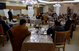 """Meeting on """"mechanisms to promoting cultural media in media colleges at Gaza Strip"""""""