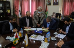 Press House and the Media Faculty at Al-Aqsa University signed a memorandum of understanding