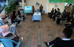 """Press House Organizes an awareness workshop on the topic of """"Publishing Crimes in the Palestinian Law"""""""