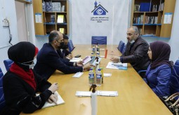 A Delegation from Central Elections Commission visits Press House