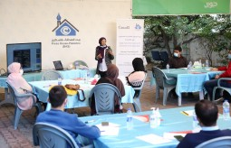 "Press House concludes a training course on the topic of ""Legal Awareness for Journalists in Gaza Strip"""