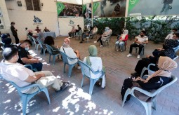 Press House receives a delegation from Women's Affairs Center Projects participants in Gaza