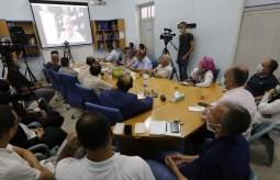 Press House and Media Center at Al-Najah University organize a dialogue meeting with Dr. Saeb Erekat