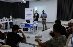 """Press House holds an awareness session on the topic of """"Labor Rights for workers in the field of Media"""""""