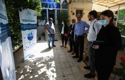 The Swiss Delegation visits Press House