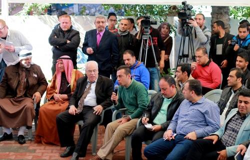 Nikolay Mladenov conference at Press House