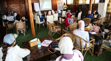 """In collaboration with Press House, An-Najah Media Center holds a workshop on """"Digital Security on Social Media Platforms"""""""