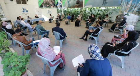 "Press House organizes a cultural session on the topic of ""The Palestinian Novel and Human Rights"""