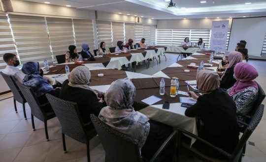 """Press House Holds a dialogue session on the topic of """"Strengthening Effective Political Participation of Women and Youth at Decision-Making Level"""""""