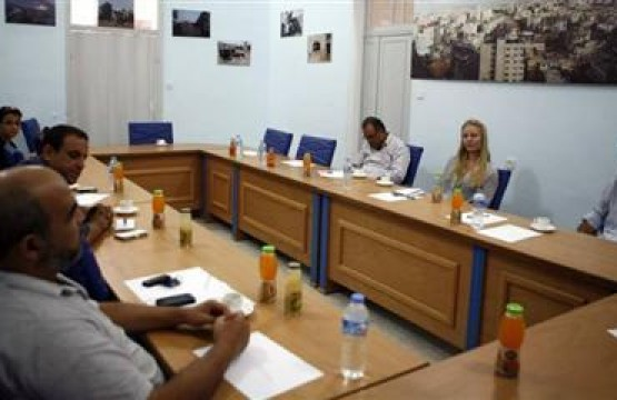 Press House receives the Program Advisor in the Norwegian Representative