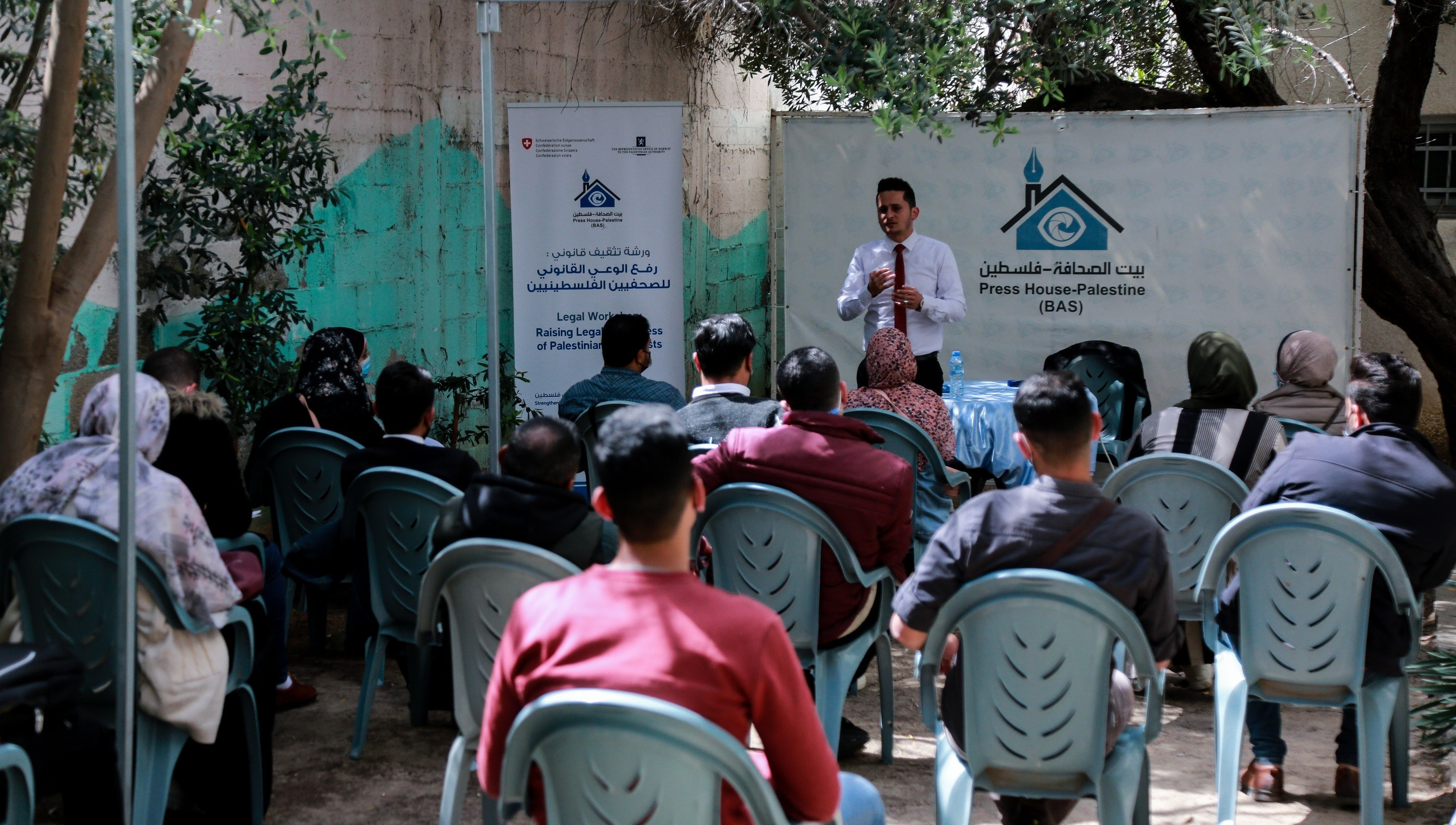 """Press House organizes an awareness workshop for journalists on the topic of """"Recording Phone Calls and Ways to Document the Journalistic Interviews"""""""