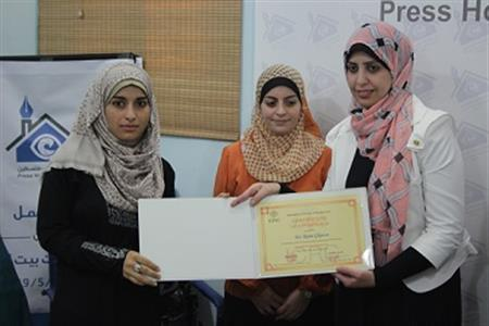 Press House & Red Cross Concludes a Training Course about the International Humanitarian Law