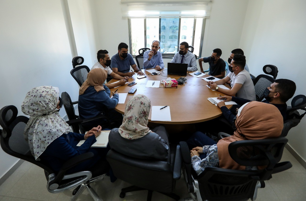 The Legal Protection Unit for Journalists holds a consultative meeting on Media Freedoms in Palestine