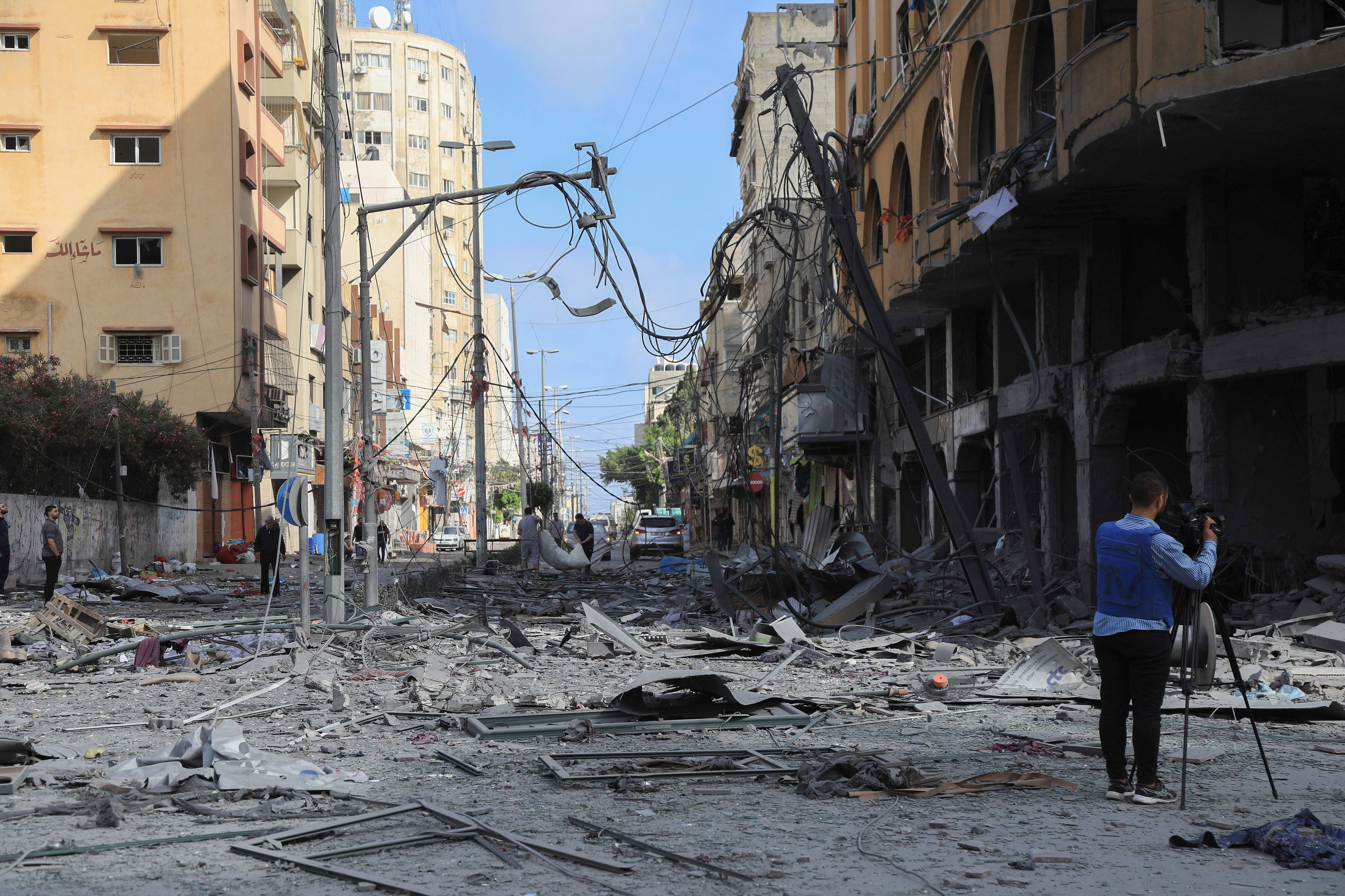 Press House publishes a newsletter on Violations against Media Freedoms in the Gaza Strip during the current escalation