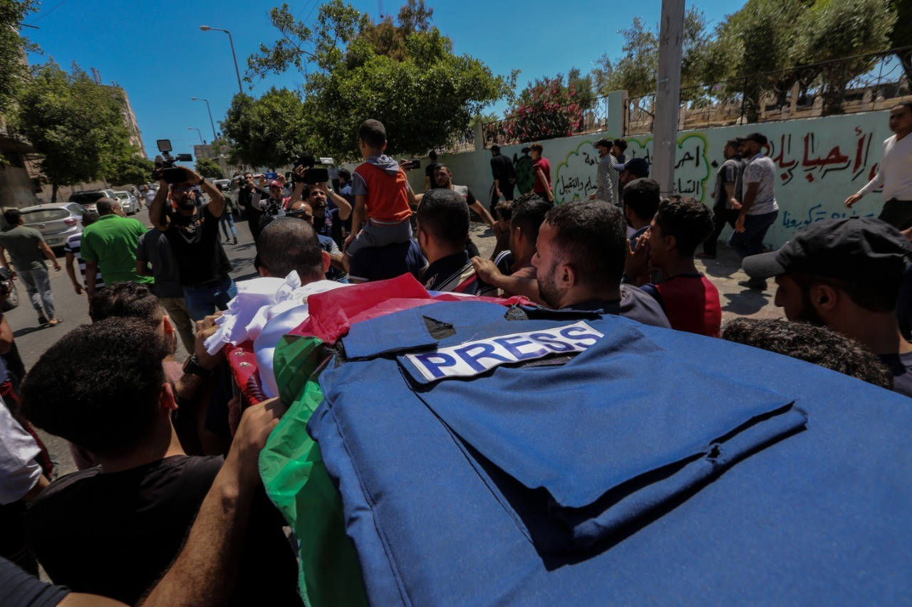 Press House publishes a newsletter on Violations against Media Freedoms in the Gaza Strip during the current escalation (20th May, 2021)