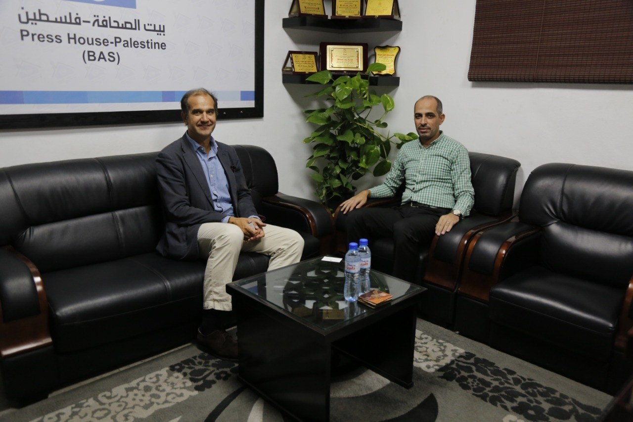 The Press House receives the Spanish Deputy Consul General
