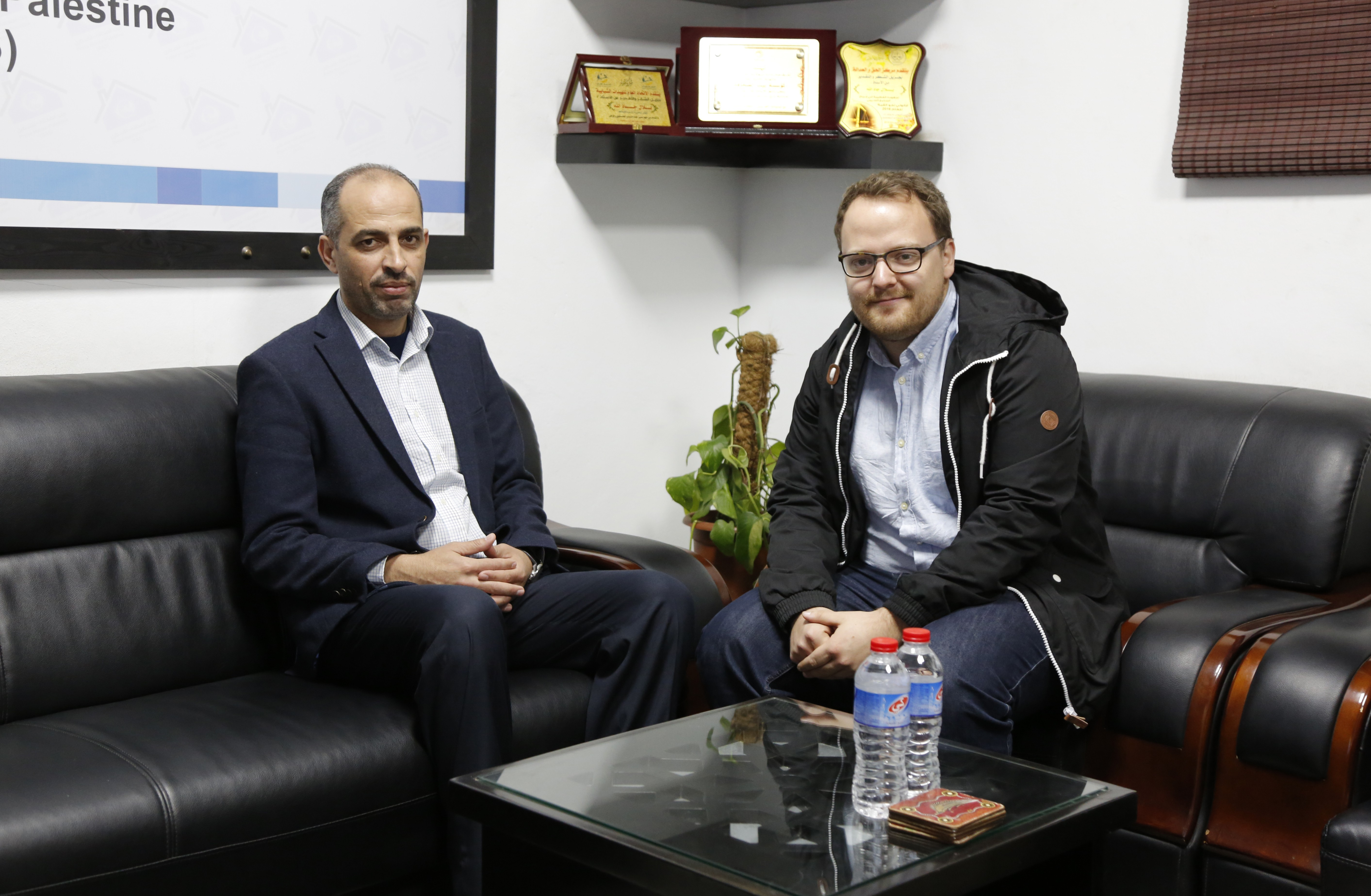 The visit of the Swiss Coordinator of Human Rights Forum to the Press House