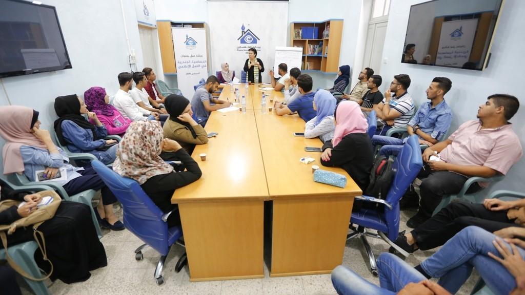 The Press House holds a workshop on Gender Sensitivity in Media work