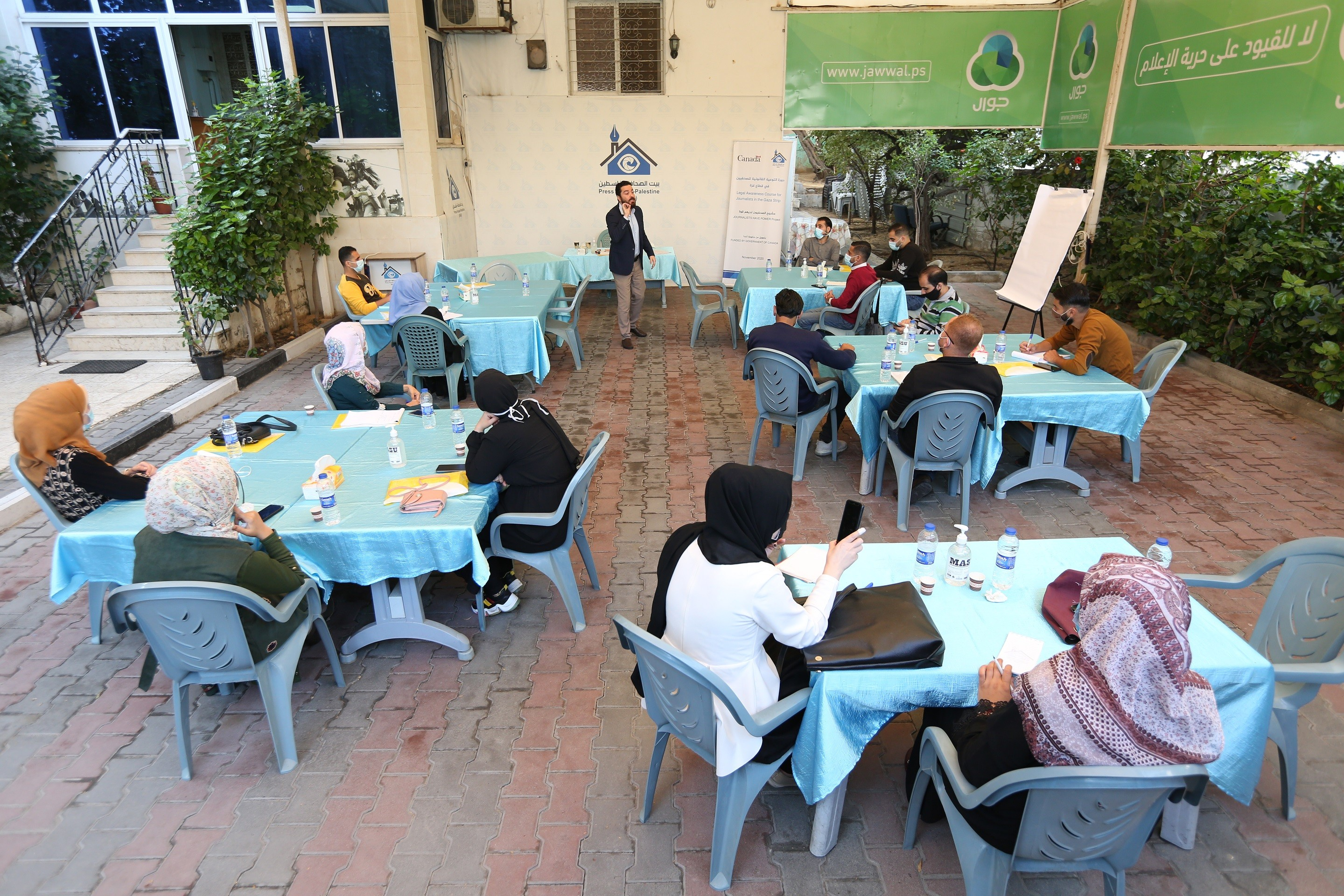 """Press House concludes """"Human Rights and Legal Awareness for Journalists"""" training course"""