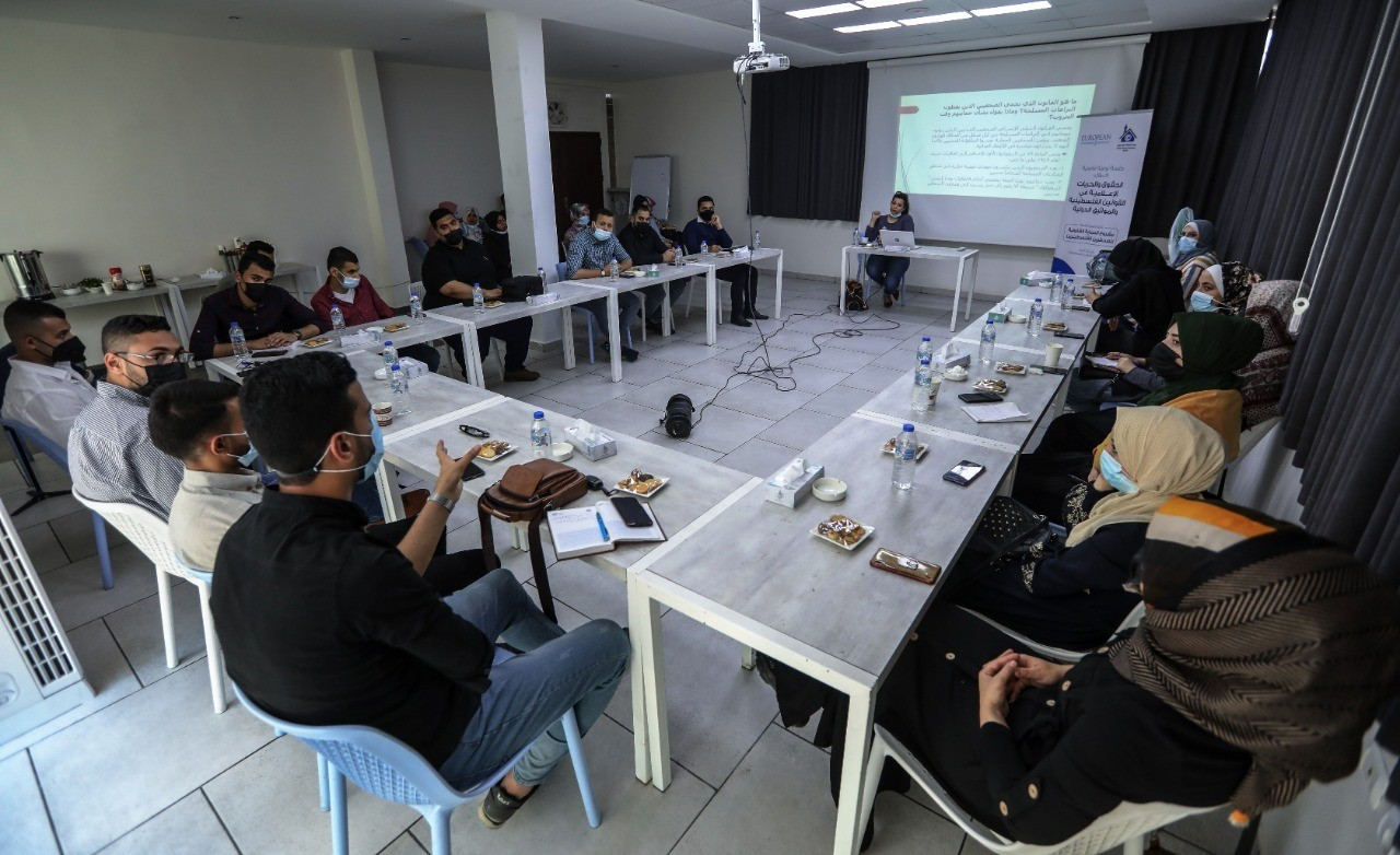 """Press House holds an Awareness Session on the topic of """"Legal Photography Standards in the Public & Private Places during Armed Conflicts"""""""