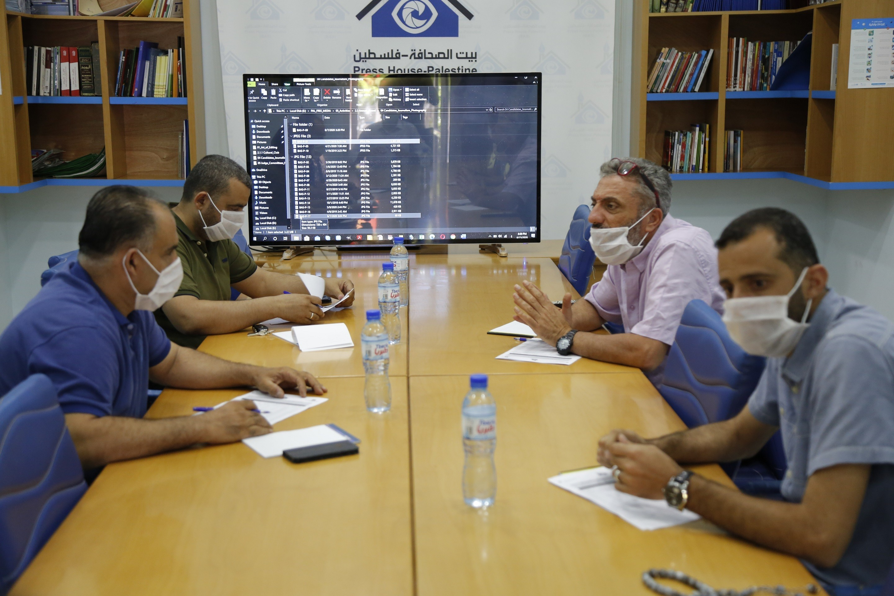 Evaluation Committee of Journalism Photo Ended The Selection of Winning Photos for Press House Annual Award 2020
