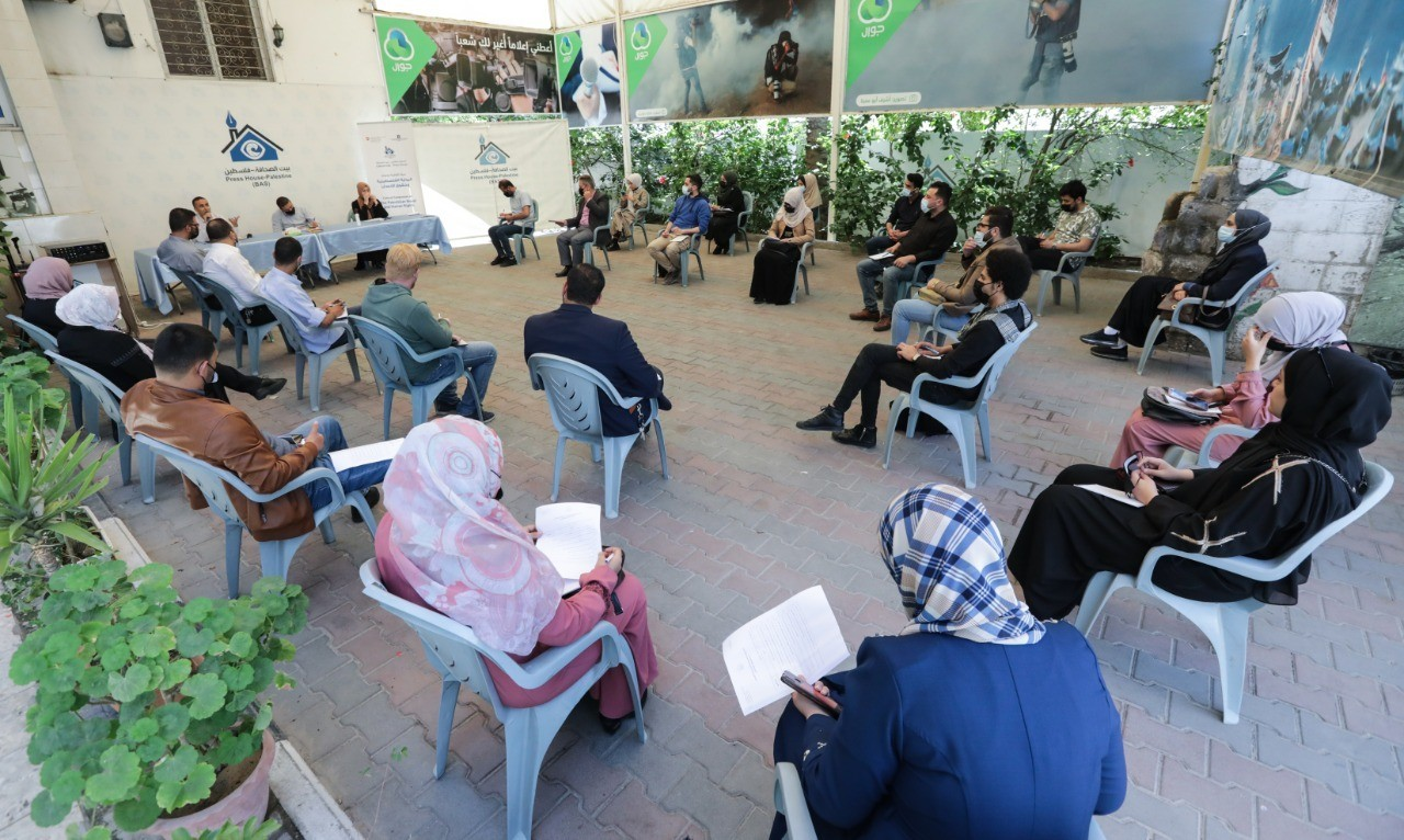 """Press House organizes a cultural session on the topic of """"The Palestinian Novel and Human Rights"""""""